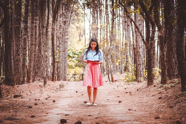 čtení cestou